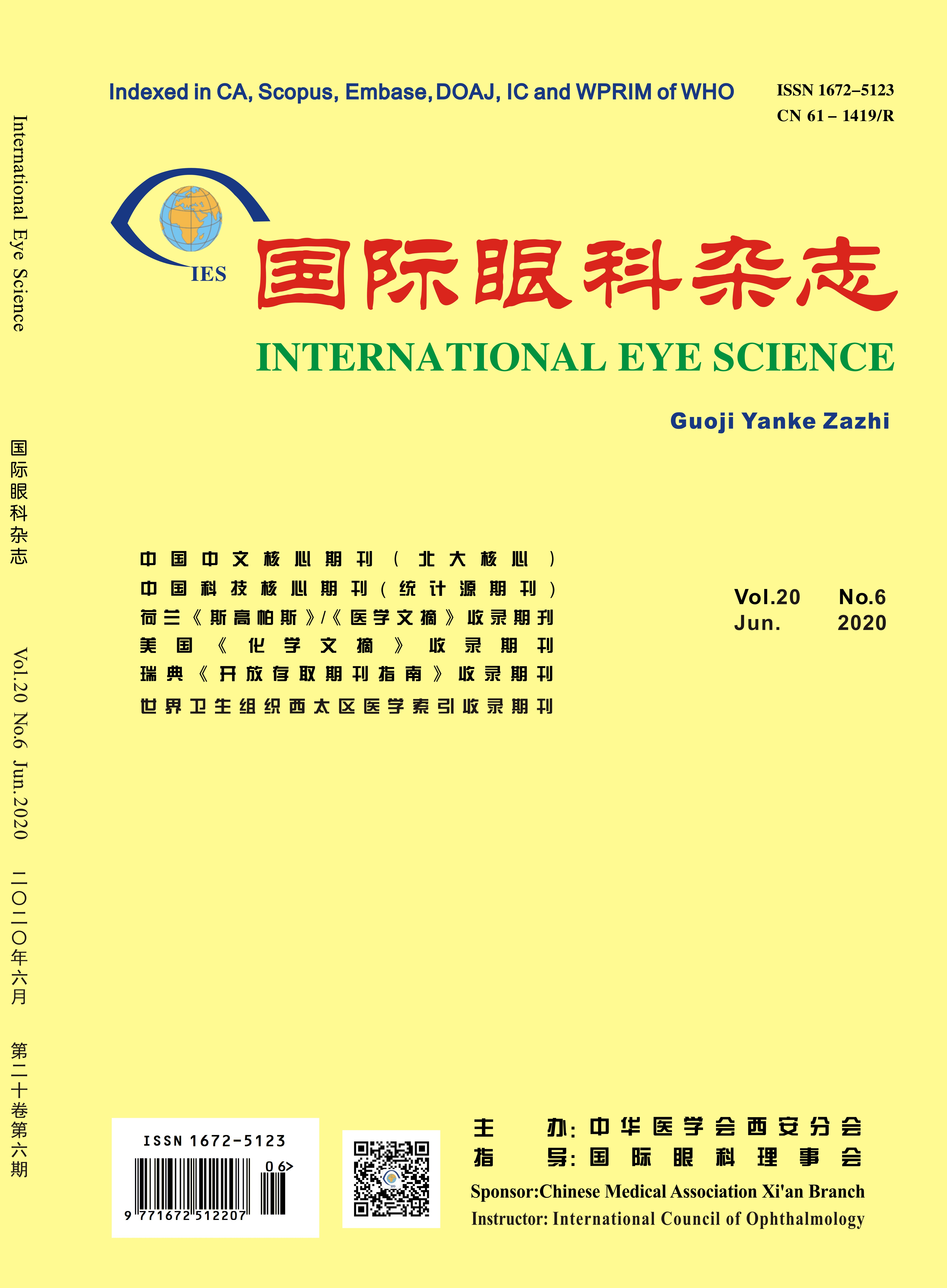 Welcome To International Journal of Ophthalmology Press